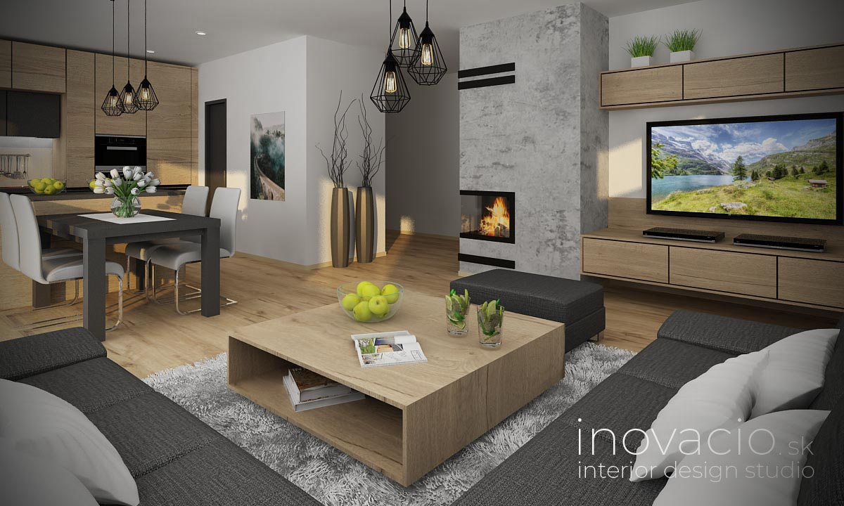 Interiér obývačky Stožok 2021 - rodinný dom - Obrázok č. 1
