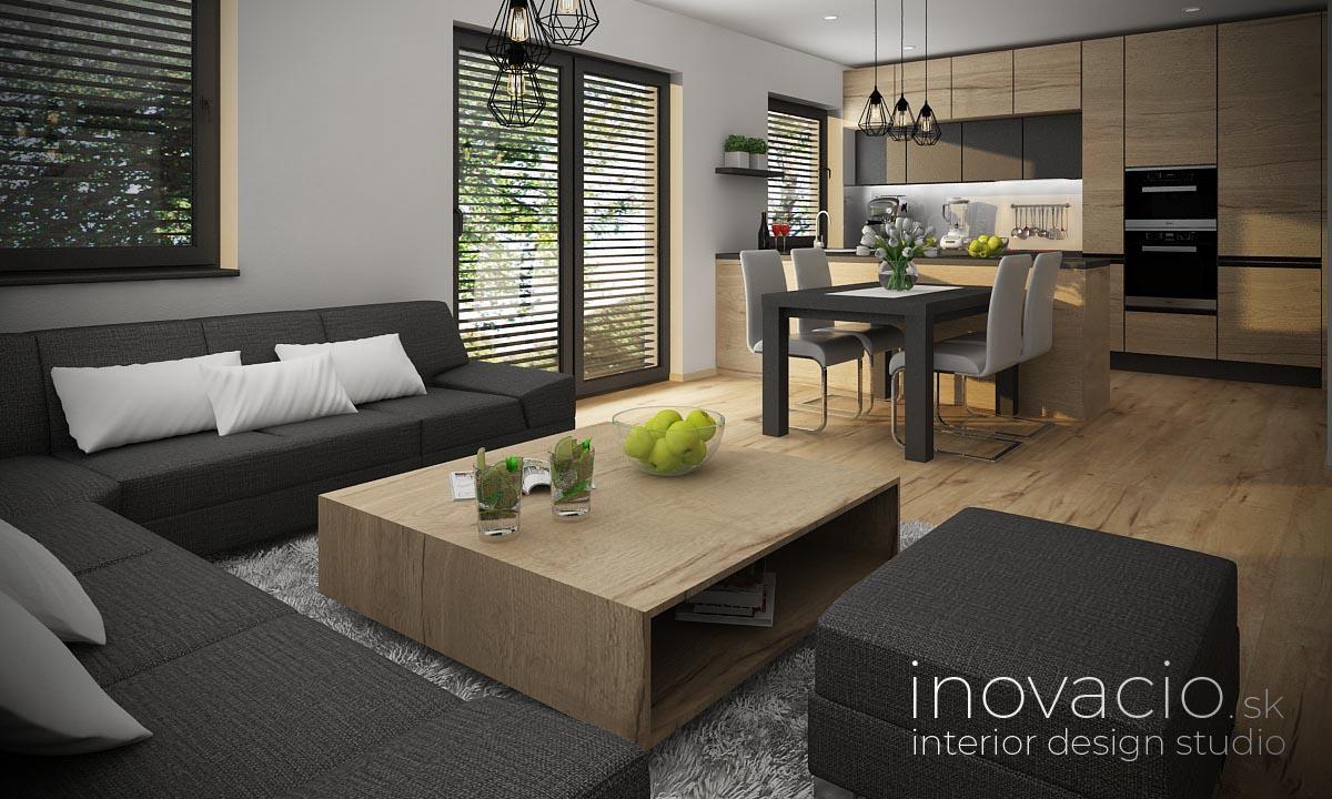 Interiér obývačky Stožok 2021 - rodinný dom - Obrázok č. 2