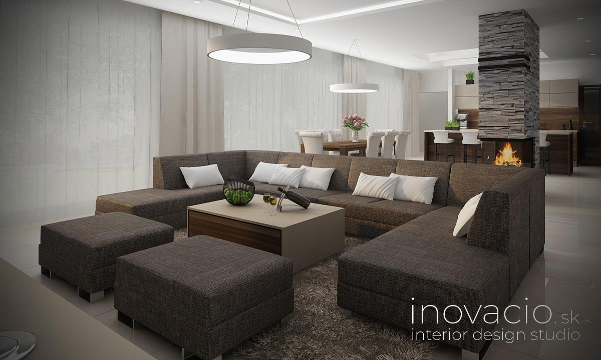 Interiér obývačky Bratislava 2021 - rodinný dom - Obrázok č. 1