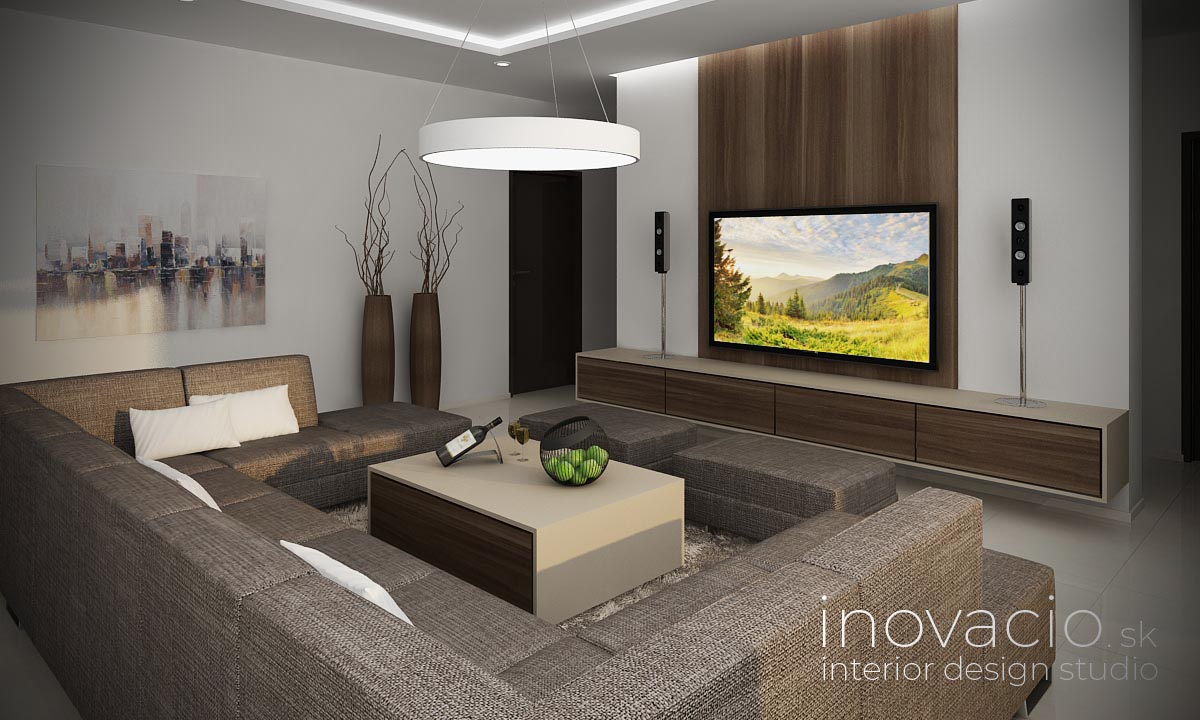 Interiér obývačky Bratislava 2021 - rodinný dom - Obrázok č. 2