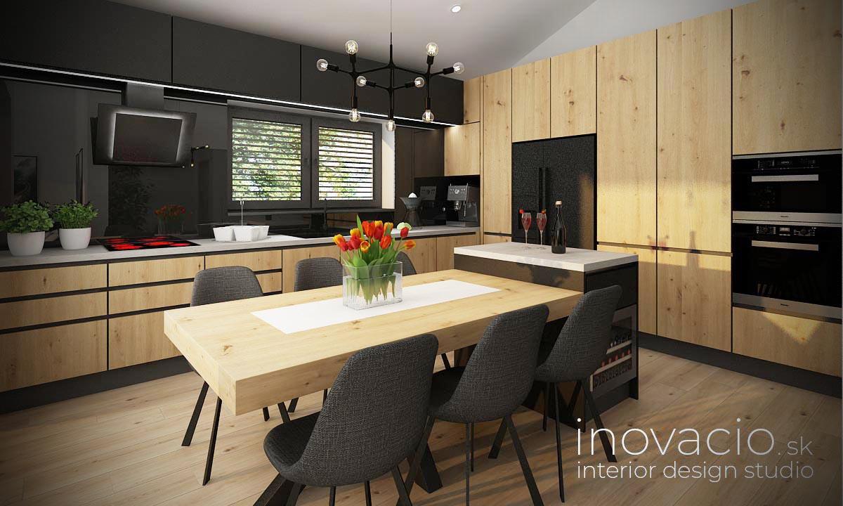 Interiér kuchyne Námestovo 2021 - rodinný dom - Obrázok č. 1