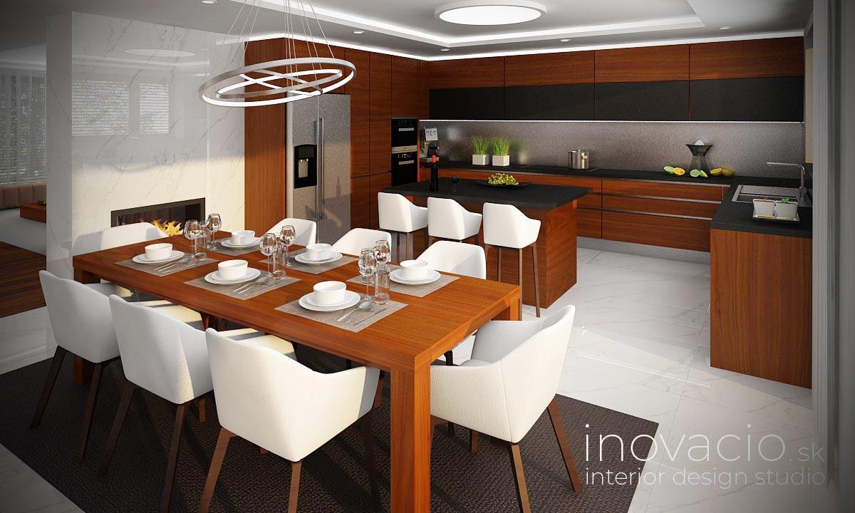 Interiér kuchyne Revúca 2021 - rodinný dom - Obrázok č. 1