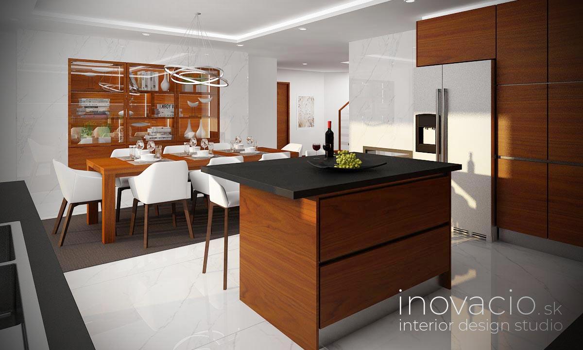 Interiér kuchyne Revúca 2021 - rodinný dom - Obrázok č. 2