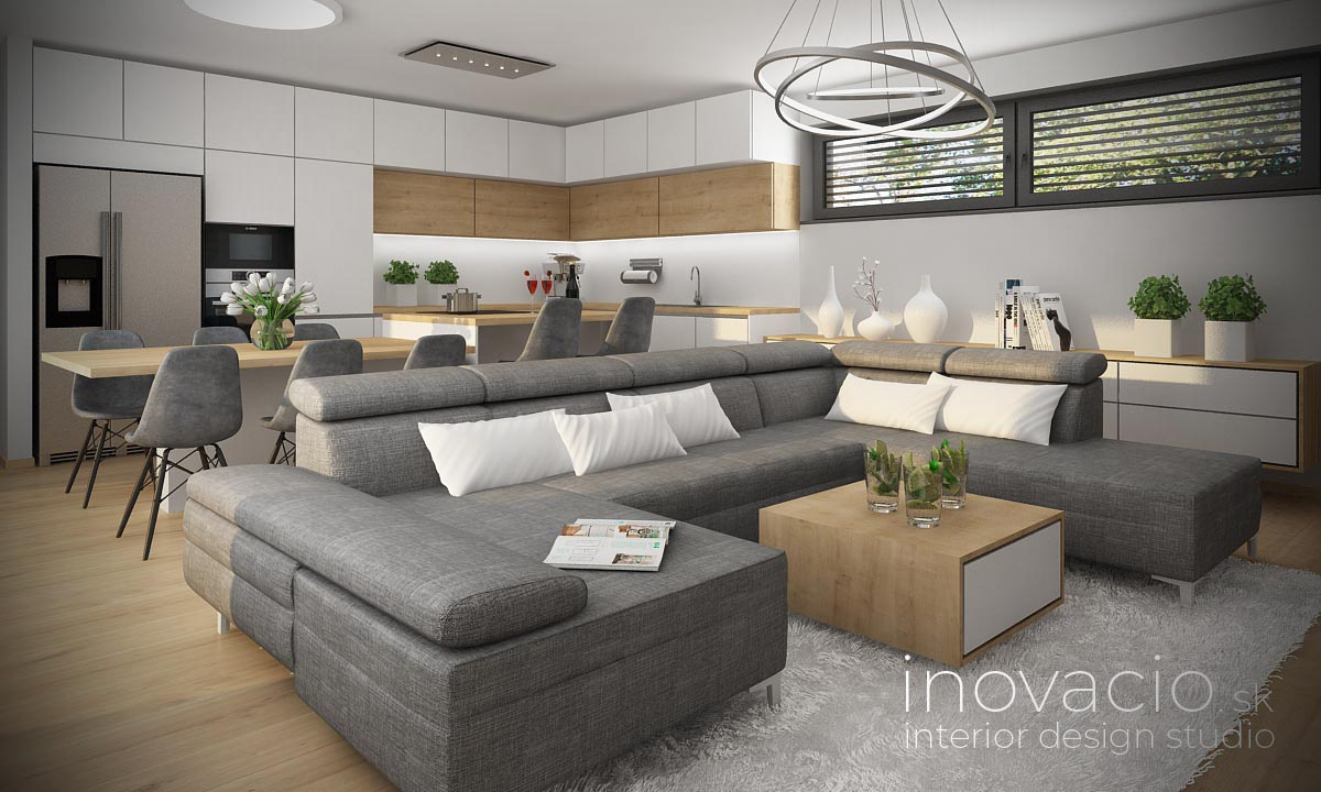 Interiér obývačky Žilina 2021 - rodinný dom - Obrázok č. 1