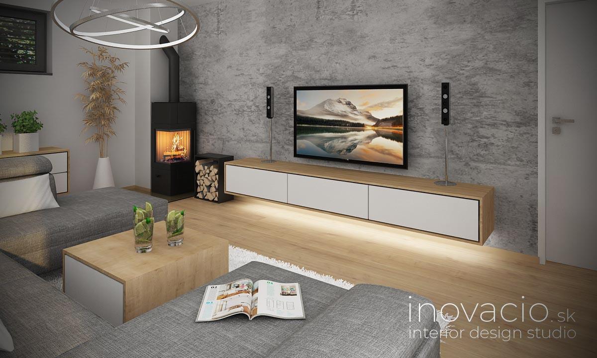 Interiér obývačky Žilina 2021 - rodinný dom - Obrázok č. 2
