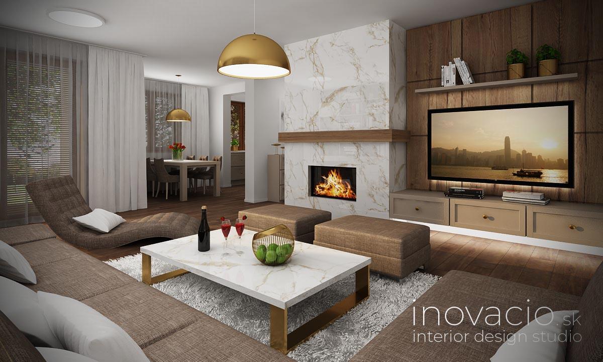 Interiér obývačky Revúca 2021 - rodinný dom - Obrázok č. 1