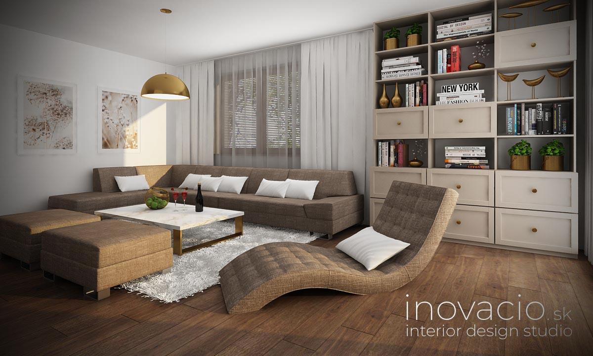 Interiér obývačky Revúca 2021 - rodinný dom - Obrázok č. 2
