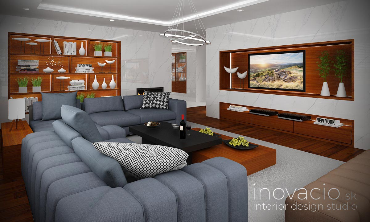 Interiér obývačky Poprad 2021 - rodinný dom - Obrázok č. 1