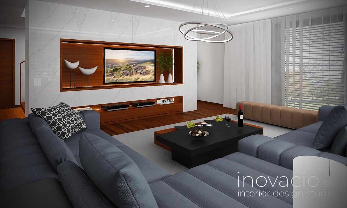 Interiér obývačky Poprad 2021 - rodinný dom - Obrázok č. 2