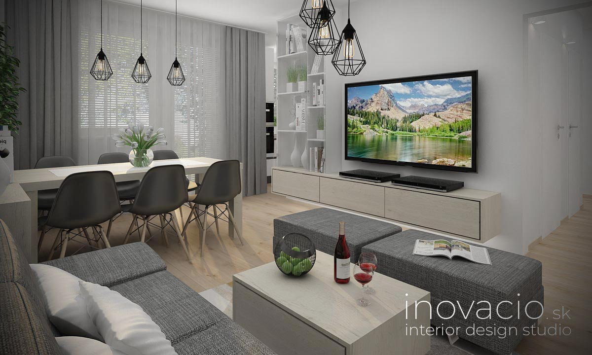 Interiér obývačky Bratislava 2021 - byt - Obrázok č. 1