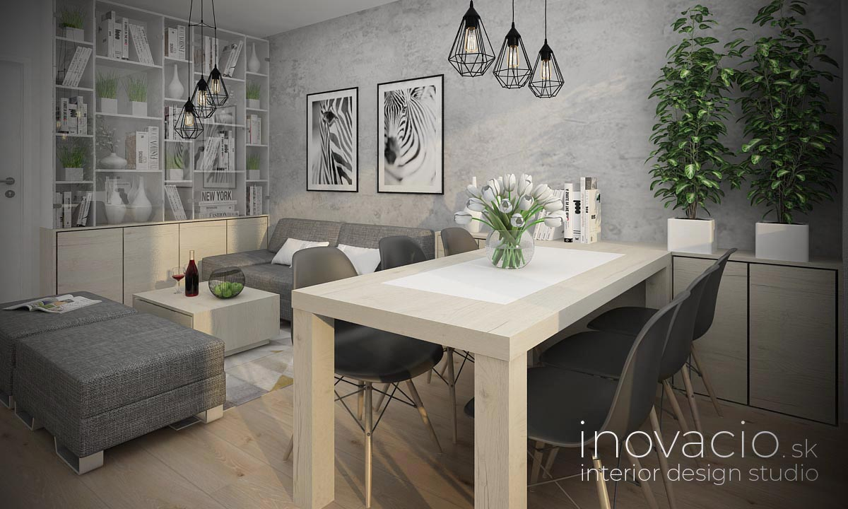 Interiér obývačky Bratislava 2021 - byt - Obrázok č. 2