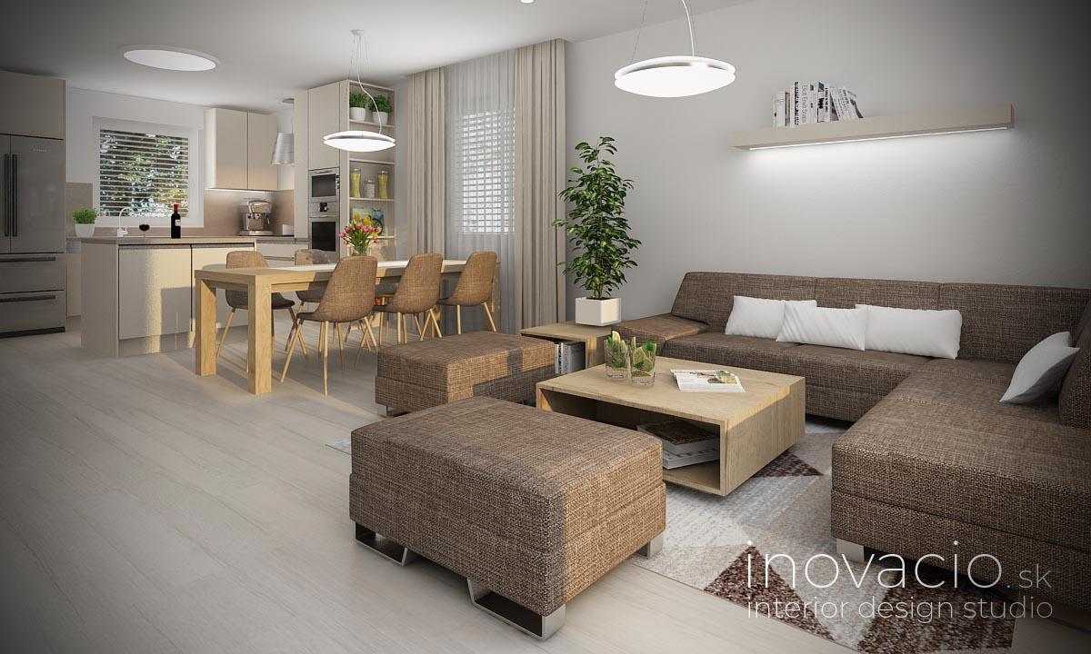 Interiér obývačky Bernolákovo 2021 - rodinný dom - Obrázok č. 2