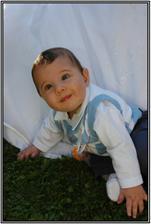 náš 7 mi měsíční syn Kubíček