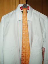 miláčkova košile se šlajfkou :)