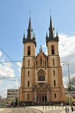 obřad - kostel sv. Antonína, Praha 7