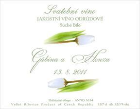 Na minivína pro hosty,máme už doma vína i etikety
