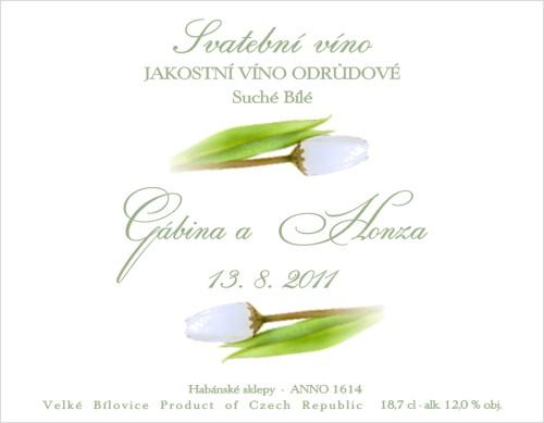 Srpnová svatba - Na minivína pro hosty,máme už doma vína i etikety