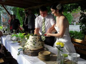 náš úžasný a výborný dort