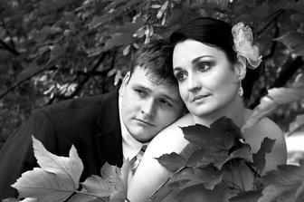 romantika v černobílé