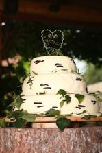 náš úchvatný dort