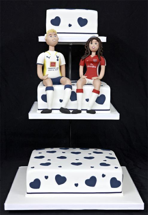 Inspirace pro M. - musí být i fotbalový dort