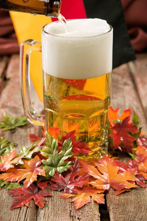 Inspirace pro M. - podzimní výzdoba má taky něco do sebe a pivo k fotbalu taky patří :-)