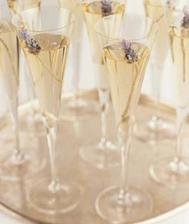 levandulové šampaňské