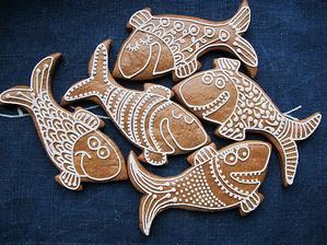 perníkové rybičky