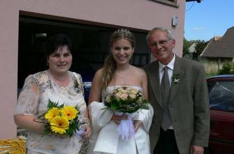 S rodičema - mám je moc ráda