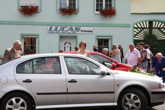 nevěsta už dojela :-)
