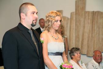 svědkové.. můj bratr a Lukášovo sestra :-)