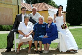 babičky a děda
