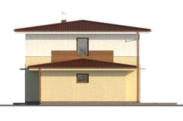 Optimal 1039, hrubá stavba - Optimal 1039 - severná strana