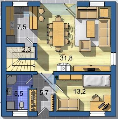 Optimal 1039, Interiér - Obrázok č. 1