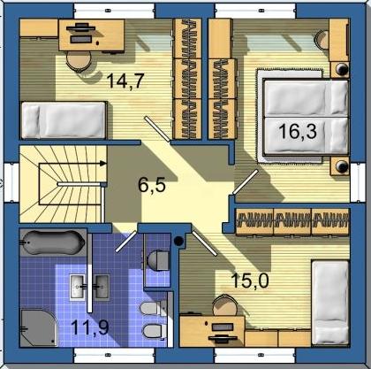 Optimal 1039, Interiér - Obrázok č. 2