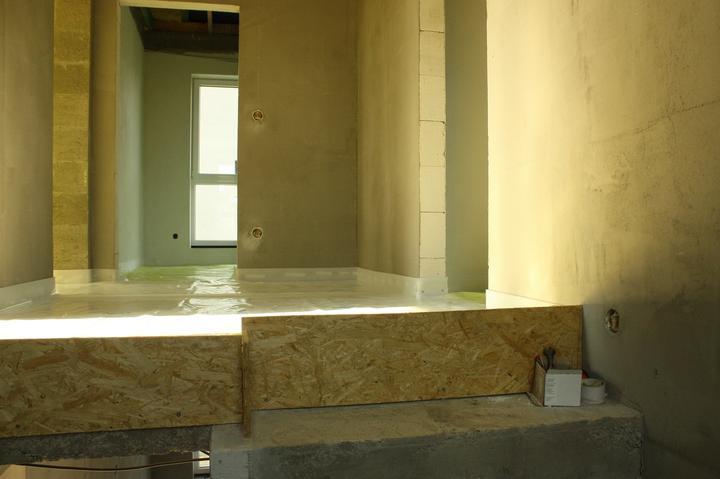 Optimal 1039, Interiér - Poschodie pred podlahovkou