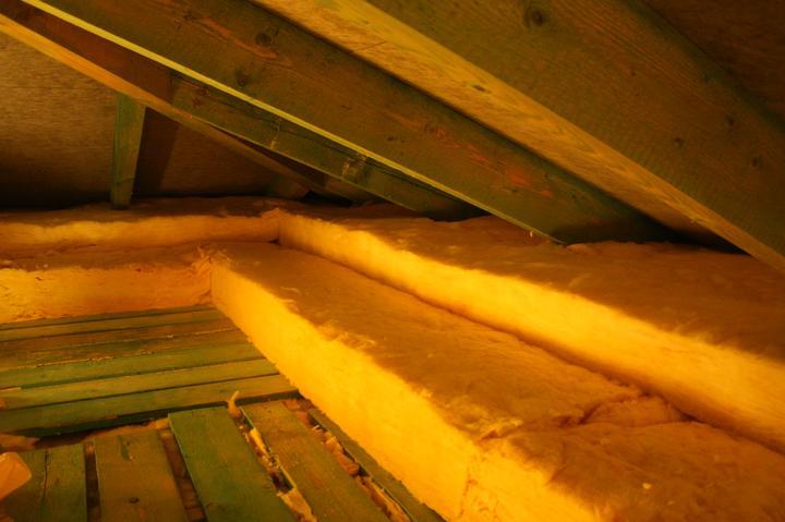 Optimal 1039, Interiér - Izolácia strechy