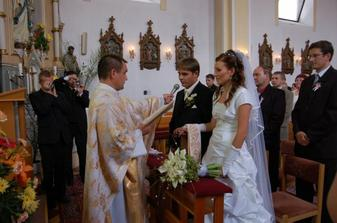 v kostolíku pri sľube