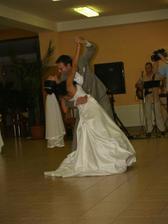 novomanželský tanec!!!!waaaaaw!