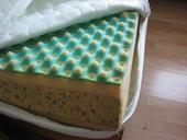 2x matrace,