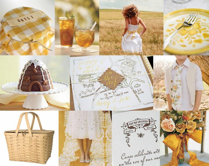 Slnečná žlto-medová :) - Obrázok č. 7