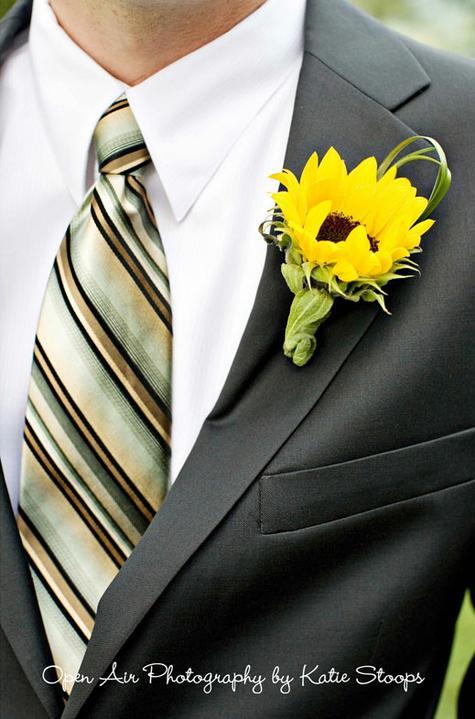 Slnečná žlto-medová :) - pre ženicha :)