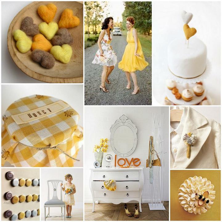 Slnečná žlto-medová :) - Obrázok č. 19