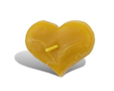 Slnečná žlto-medová :) - opat z vcelieho vosku a palavajuca :)