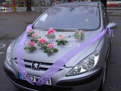 Vyzdoby svadobných  áut - Obrázok č. 96
