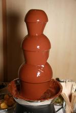 naša čokoládová fontána