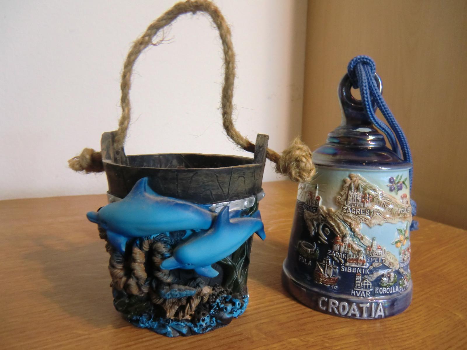 Suvenír-zvonček z Chorvátska - Obrázok č. 1