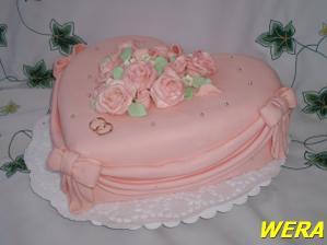 druhý dort na svatbu