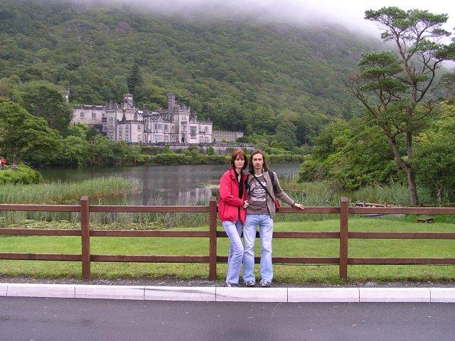 Vladka  a Milosko - Ja a moja laska  pri zamku v Killarnej