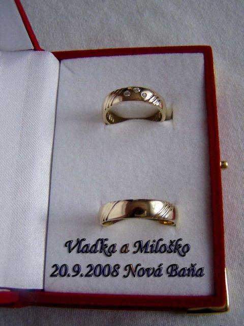 Vladka  a Milosko - Nase obrucky